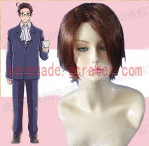 Hetalia Axis Powers Roderich Edelstein cosplay wig