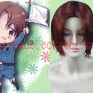 Hetalia Axis Powers Feliciano Vargas cosplay wig