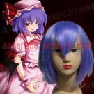 Touhou Project Remilia Scarlet cosplay wig