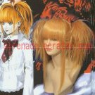 Death Note Misa Amane 2 Clips on Ponytails Cosplay wig