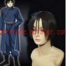 Fullmetal Alchemist Colonel Roy Mustang Cosplay wig