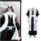 Bleach 6th Division Captain Kuchiki Byakuya Cosplay Costume