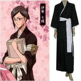 Bleach 8th Division Lieutenant Ise Nanao Cosplay Costumes