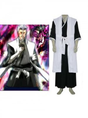Bleach 1st Division Lieutenant Sasakibe Chojiro Men's cosplay costume