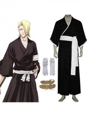 Bleach 3rd Division Lieutenant Kira Izuru Cosplay Costume