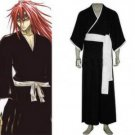 Bleach Abarai Renji Men's Cosplay Costume