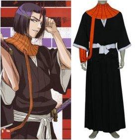 Bleach Ayasegawa Yumichika Cosplay Costume