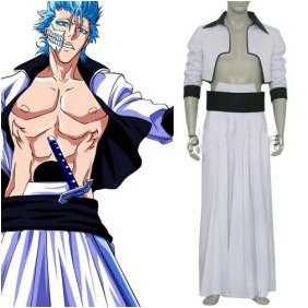 Bleach Grimmjow Cosplay Costume
