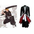 Bleach Ichigo Kurosaki Mens Bankai cosplay costumes