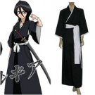 Bleach Kuchiki Rukia Soul Reaper Uniform Cosplay Costume