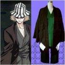 Bleach Urahara Kisuke Mens Cosplay Costume