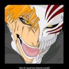 Bleach Kurosaki Ichigo bankai Half Hollow Mask(white) cosplay