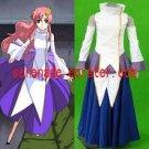 Gundam Seed Lacus Clyne Women's Cosplay Costume