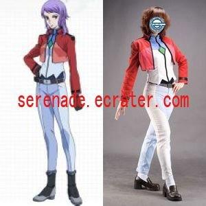 Gundam Anew Women's Cosplay Costume