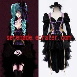 Vocaloid Hatsune Miku Goethe Style Cosplay Costume