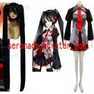 Vocaloid Zatsune Miku Cosplay Costume And Wig
