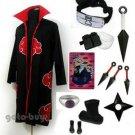 Naruto Cosplay Akatsuki cloak Sasori Costume DHL Shipping