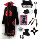 Naruto Cosplay Akatsuki cloak Kakuzu Costume DHL Shipping