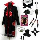 Naruto Cosplay Akatsuki cloak Zetsu Costume DHL Shipping
