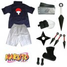 Naruto Uchiha Sasuke Cosplay Costume and accessories