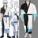 Gintama Silver Soul Sakata Gintoki Cosplay Costume