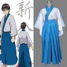 Gintama Silver Soul Shimura Shinpachi Cosplay Costume