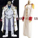 One Piece Navy Justice Cloak Cosplay Costume