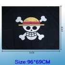 One Piece Monkey D Luffy Pirates Crew Cosplay Flag