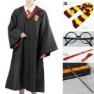 Harry Potter Cosplay Cloak Magic Vestment And Scarf Package