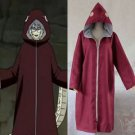Naruto Akatsuki Yakushi Kabuto cloak Cosplay Costume