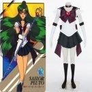 Sailor Moon Sailor Pluto Meiou Setsuna Cosplay Costume