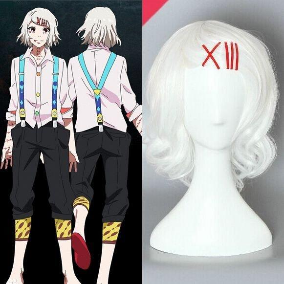 Tokyo Ghoul Juzo Suzuya Cosplay Wig