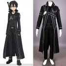 Sword Art Online Kirigaya Kazuto Kirito cloak Cosplay Costume