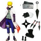 Naruto Yondaime 4th Hokage Namikaze Minato Cosplay Costume And Accessories