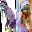 Kagerou Project MekakuCity Actors Kido Tsubomi Cosplay Costume And Wig
