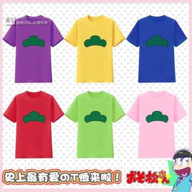 Osomatsu-san Cosplay Osomatsu Jyushimatsu Ichimatsu Karamatsu Todomatsu Choromatsu T-Shirt