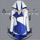 Assassin's Creed III Cosplay Connor Costume Blue And White Coat