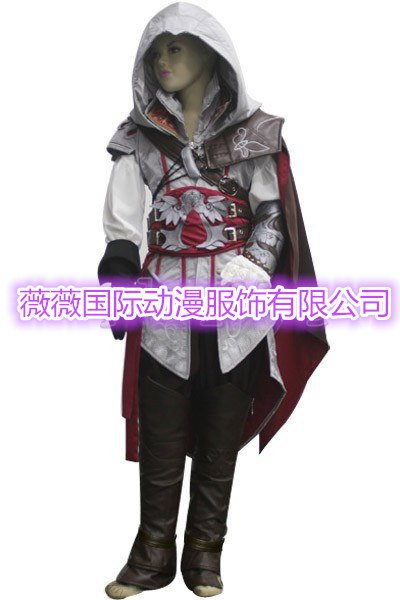 Assassin's Creed II Cosplay Ezio Auditore da Firenze Children's Costume