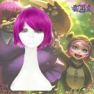 League of Legends LOL Annie the Dark Child Purple And Red Cosplay Wig