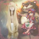 League of Legends LOL Annie the Dark Child Golden Cosplay Wig