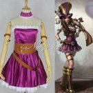 League of Legends LOL Caitlyn the Sheriff of Piltover Cosplay Costume