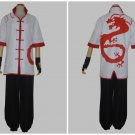 League of Legends LOL Lee Sin the Blind Monk White Cosplay Costume