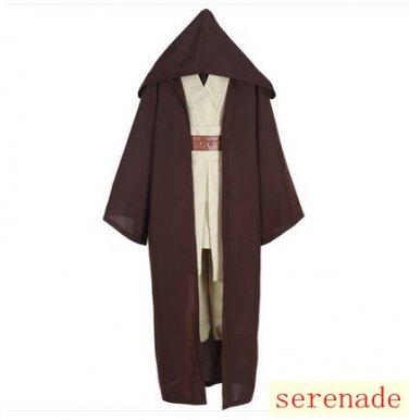 Star Wars Jedi Knight Brown Cosplay Cloak
