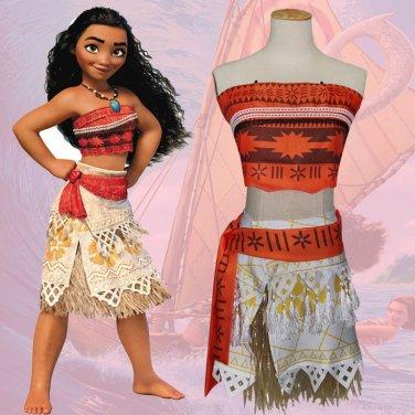 The Walt Disney Company Moana Cosplay Costume