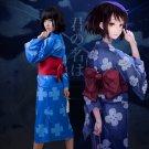 Your Name Miyamizu Mitsuha Kimono Cosplay Costume