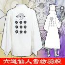 Naruto Otsutsuki Ootutuki Hagoromo Rikudo Sennin Coat Cosplay Costume