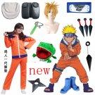 Naruto Uzumaki Naruto First Cosplay Costume And Accessories And Wig