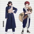 Naruto Sabaku no Gaara Second Blue Cosplay Costume