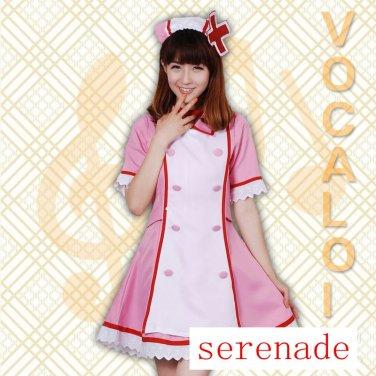 Vocaloid Hatsune Miku The Nurse Clothing Cosplay Costume