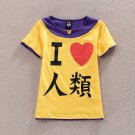NO GAME NO LIFE Sora T-shirt Cosplay Costume